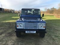 Land Rover Defender 110 TD5 COUNTY STATION WAGON (blue) 2007-02-15