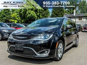 2017 Chrysler Pacifica LIMITED, DVD, BACKUP CAM, SUNROOF, BLINDS