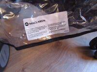 Genuine branded Raincover for Maclaren Triumph (or similar Maclaren model)