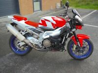 Aprilia Tuono 1000 2007 Only 6,850 miles. Excellent condition, Swanage