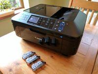 Canon PIXMA MX895 Printer / Copier / Scanner ** WITH INKS **