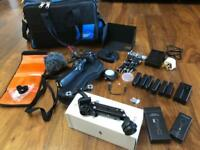 DJI osmo 4K stabilised camera with lots of extras