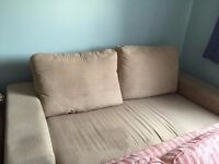 2 sitter sofa.