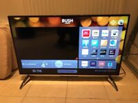 40 inch 4K ultra hd smart led tv. ONLY FEW WEEKS OLD. CAN DELIVER