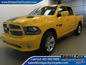 2016 Ram 1500 Sport- Special Edition Stinger Yellow!