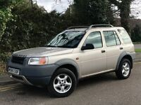 2000 LANDROVER FREELANDER XEI, 1.8 ENGINE, 1 OWNER FROM NEW & FULL SERVICE HISTORY WITH LOW MILES.