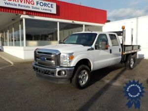 2016 Ford F-350SD XLT Crew Cab 4X4 8' Flat Deck, Bluetooth