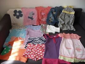 Bundle girls clothes,age 1-2 years.