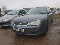 Ford Mondeo 2005 1.8 Petrol 5dr Grey Saloon Spare or Repair