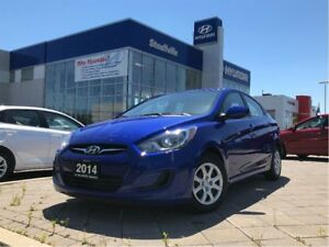 2014 Hyundai Accent 4Dr GL at AMAZING BLUE, A/C, PWR GROUP, GREA