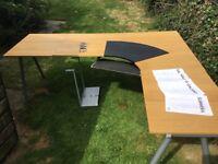IKEA galant office desk / worktop / computer station