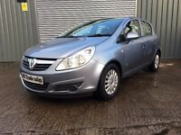 2008 VAUX CORSA 1.0 LIFE 5dr **FULL YRS MOT** similar to fiesta golf focus civic 308 clio punto jazz