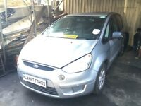 FORD S-MAX 1.8TDCi Stardust Silver PBREAKING FOR PARTS WHEEL BOLT 2006-2010 2008