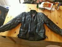 Mens Acesport motorcycle jacket size 42