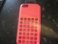 BRAND NEW GENUINE APPLE IPHONE 5C PINK CASE