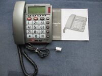 Power Tel 30 Amplified Corded Telephone with Instruction Booklet