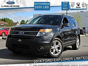 2014 Ford Explorer **LIMITED*AWD*CUIR*TOIT *NAVI*CAMERA**