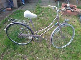 Raleigh vintage ladies Bike for sale!