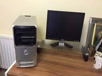 """**Dell 15"""" Monitor & AMD Athlon Dual Core Processor**"""
