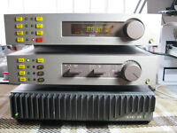 QUAD FM4 TUNER .34 PRE AMP .306 POWER AMP C/W STAND ALSO QUAD
