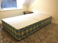 Small double bed with 4 large drawers