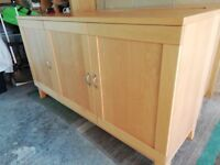 Habitat Sideboard - A stylish piece of furniture built of solid wood.