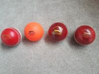 SLAZENGER Cricket Balls - 2x Corky, 1x Semi-corky, 1x Air Ball Senior