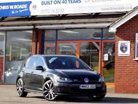 VOLKSWAGEN GOLF 2.0 GTD 5dr 181 BHP *Superb Performance & Economy* (grey) 2014