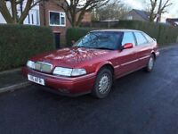 Rover 825 V6 Sterling fastback - 1999, long MOT, private reg