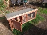 Used Guinea Pig / Rabbit Hutch , Epsom