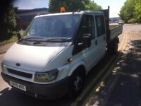 Ford Transit Tipper Crew Cab 2006 115PS
