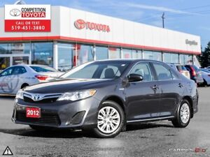 2012 Toyota Camry Hybrid LE One Owner, Toyota Serviced