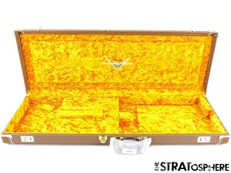 Fender Custom Shop Stratocaster Tele G&G Brown HARDSHELL CASE, from 1961 Strat.