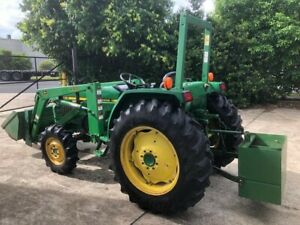 John Deere tractor 1070 38 hp 4wd with loader