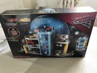 Brand new Disney cars 3 mega garage and race course