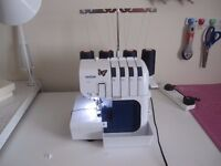 Almost new brother overlock machine