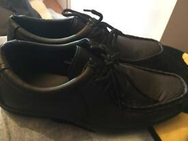 Boys black shoes