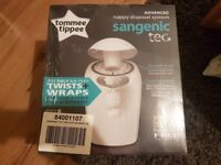 Tommee Tippee Sangenic Tec Nappy Disposal Bin (White)