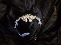 BEAUTIFUL JON RICHARD TIARA HEADPIECE PEARLS AND JEWELS BRAND NEW IN THE BOX RRP £60