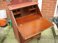 Ladies Inlaided Antique Writing Desk