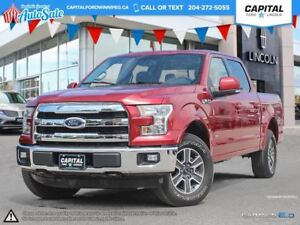 2015 Ford F-150 Lariat *Heated/Cooled Seats-Navigation-Moonroof*