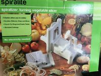 Spiralite Spiral Vegetable Slicer Make your own vegetable spaghetti
