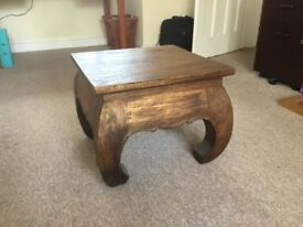 A low chinese-style side table