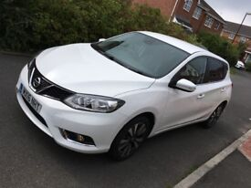 Nissan pulsar N . Connecta £30 rd tax,Sat Nav.Reverse Camera