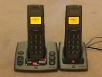 BT Freestyle 750 Twin cordless phones with answering machine