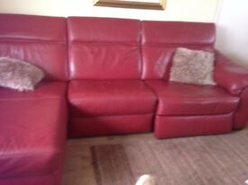 Sofa with recliners