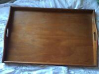 Vintage wooden tray XL
