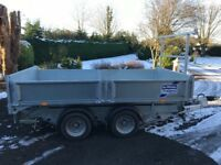 Ifor Williams tipper trailer for sale 2017