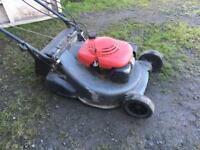 Honda petrol lawnmower selling as spares or repairs