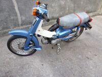 HONDA C90 (110cc) CLEAN LATE MODEL (2000) NO ROT.